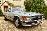 Sorry now SOLD! This Classic 1989 Mercedes 500 SL Convertible is VERY rare & collectible!
