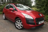 2010/60 PEUGEOT 3008 Active 1.6 HDi Diesel Automatic MPV