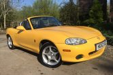 2002/52 MAZDA MX-5 1.8 Arizona in Individual Metallic Yellow! – Sorry now SOLD!