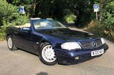 1996 MERCEDES SL320 Convertible with FSH with 16 Service Stamps