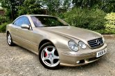 Modern Classic 2000 X Registration MERCEDES CL500