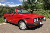 1987 D VW Golf 1.8 Clipper Cabriolet – Sorry now SOLD!