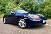 2002/02 Porsche Boxster 2.7 Tiptronic in Lapis Blue SORRY NOW SOLD